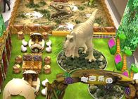 China 2D projeto artificial do tema do dinossauro 3D para o shopping do parque de diversões empresa