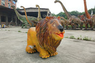 Realistic Animal Battery Car Weather Resistant Life Size Lion Ride