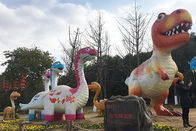 Kids Like Handmade Park Fiberglass Dinosaur Models For Indoor And Outdoor
