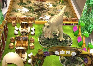 China 2D projeto artificial do tema do dinossauro 3D para o shopping do parque de diversões fábrica